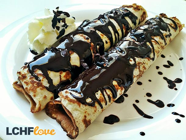LCHF Crepes