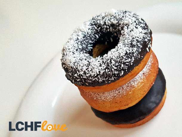 LCHF Doughnuts