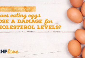 Does eating eggs pose a damage for cholesterol levels?