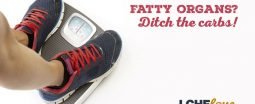Fatty organs: ditch the carbs