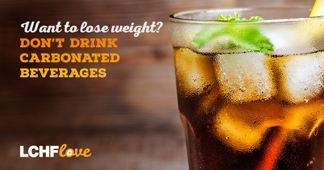 Want to lose weight? Don't drink carbonated beverages