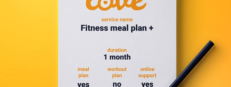 Fitness meal and workout plan with online support