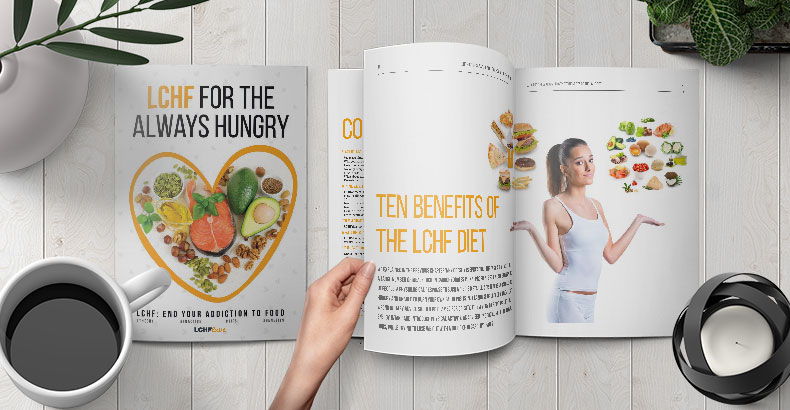 Free e-book: LCHF for the always hungry